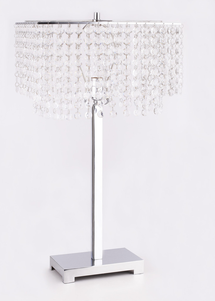 Paradise Table Lamp - 6215T-SV