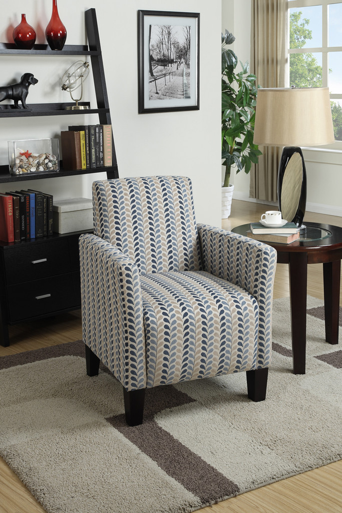 ACCENT CHAIR IN CHARCOAL COLOR