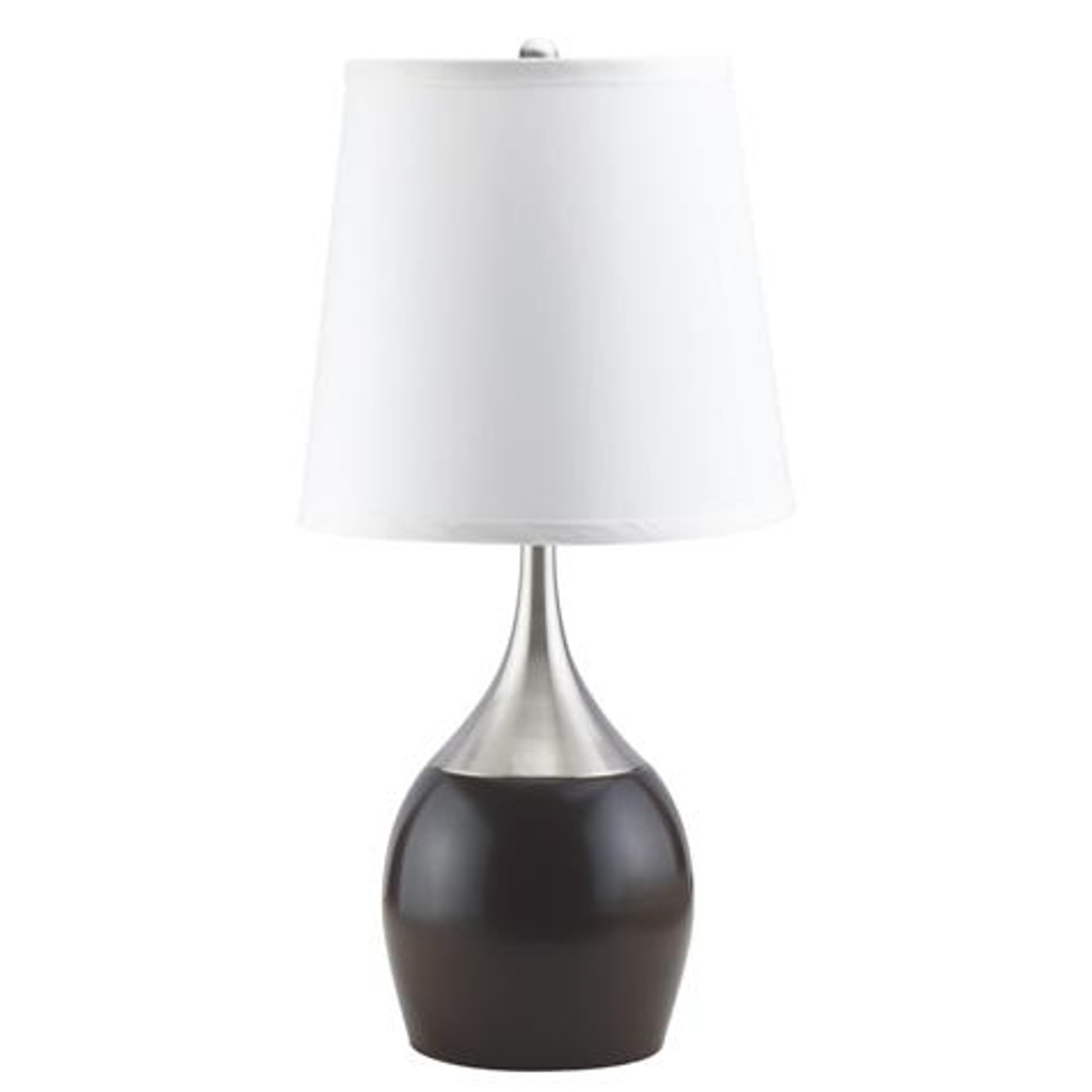 TABLE TOUCH LAMP ESPRESSO (SET OF 2) - 6238T-ES