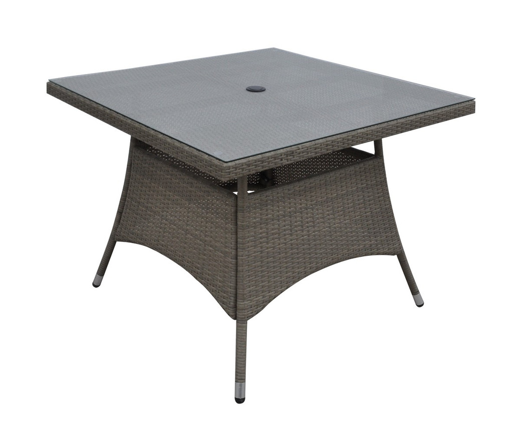 """OUTDOOR SQUARE TABLE 40"""" X 40"""" X 29""""H"""