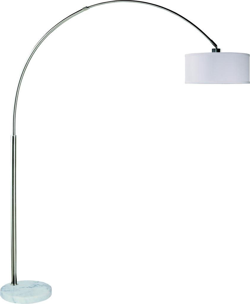 FLOOR LAMP WHITE-6222F-WH