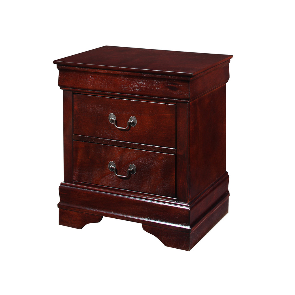 LOUIS PHILIP NIGHT STAND CHERRY-B3800/2