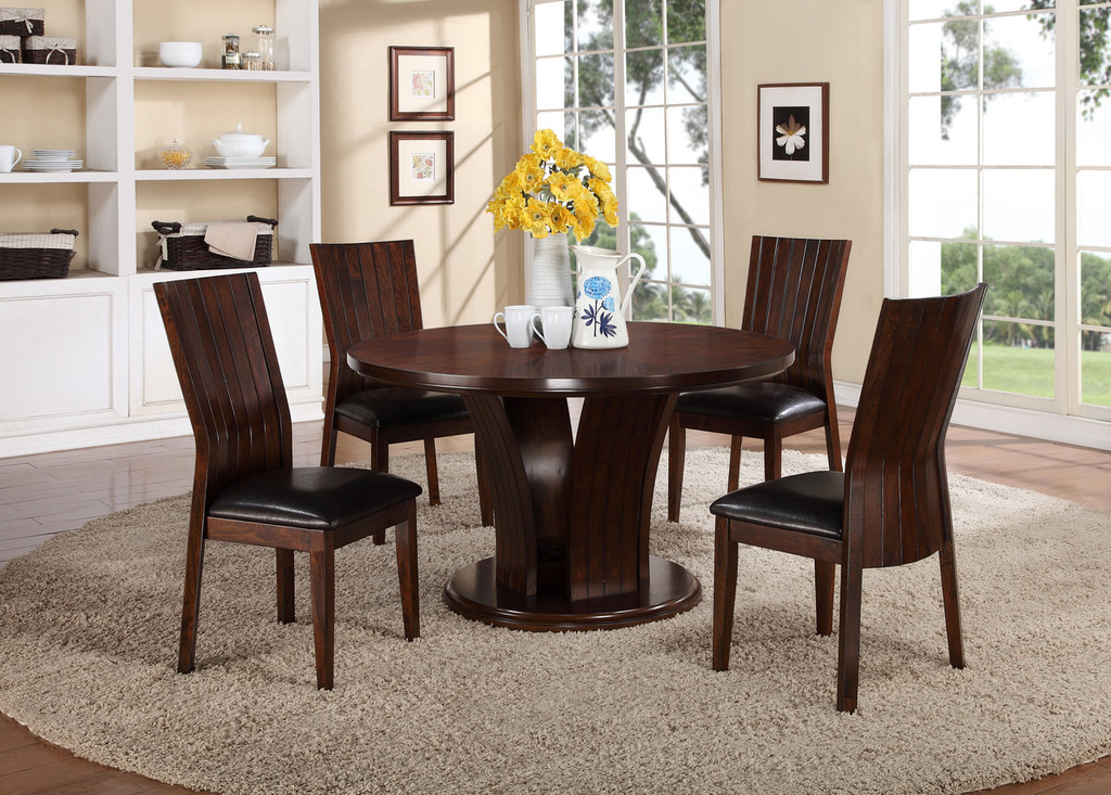 """DARIA 54"""" ROUND DINING TABLE-2234T/54"""