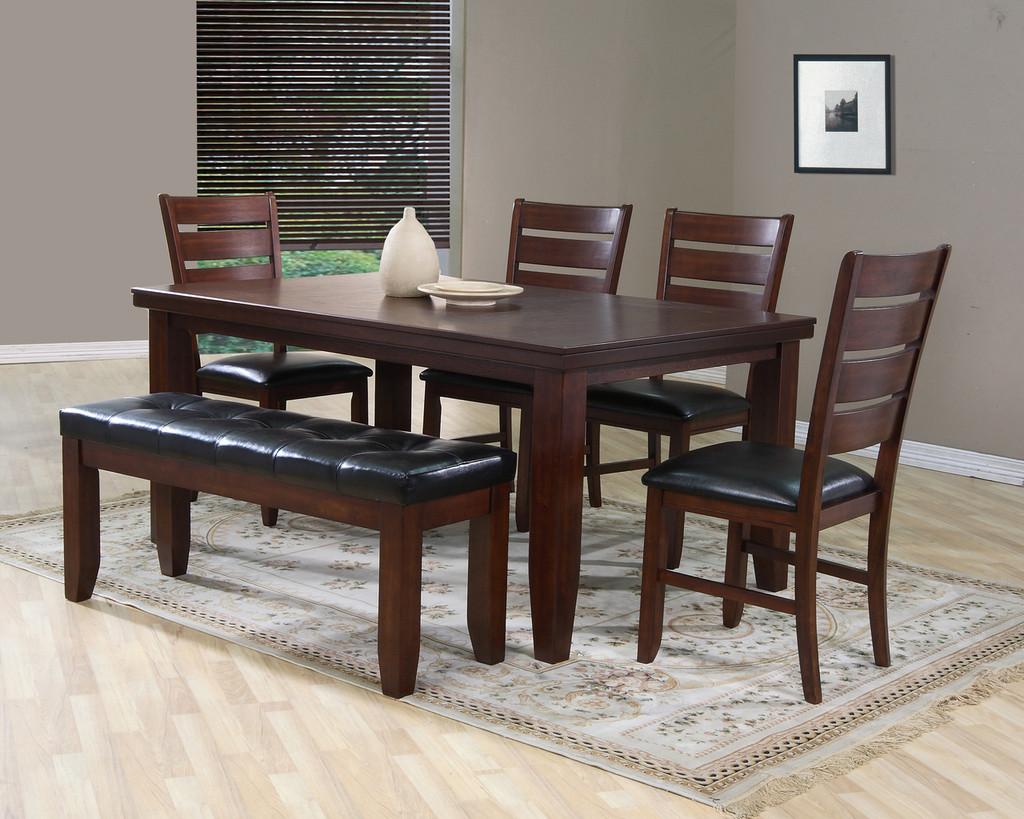 BARDSTOWN VENEER DINING TABLE-2157T/4266