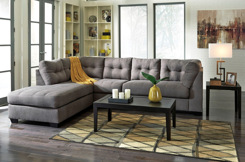 MAIER CHARCOAL COLLECTION SECTIONAL SET-45200-66-17