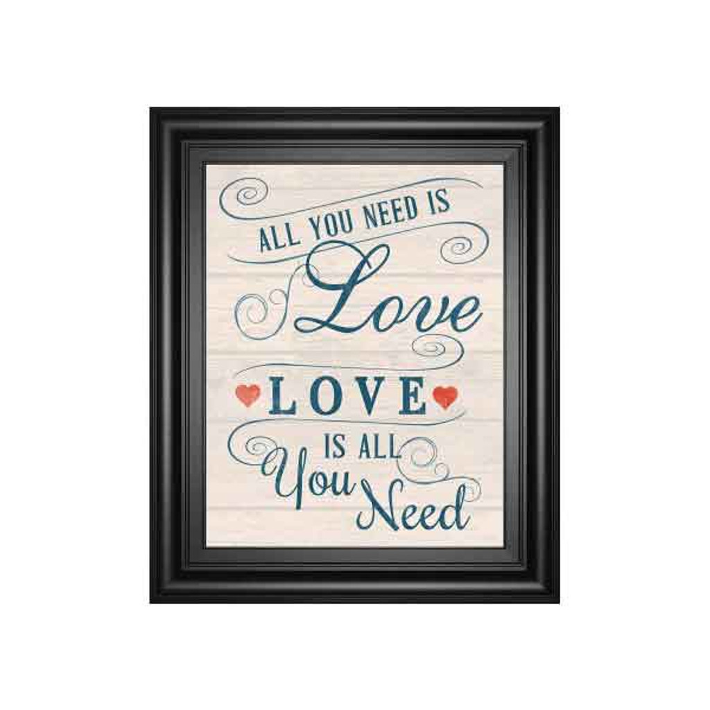 ALL YOU NEED IS LOVE BY TOM FRAZIER 22x26
