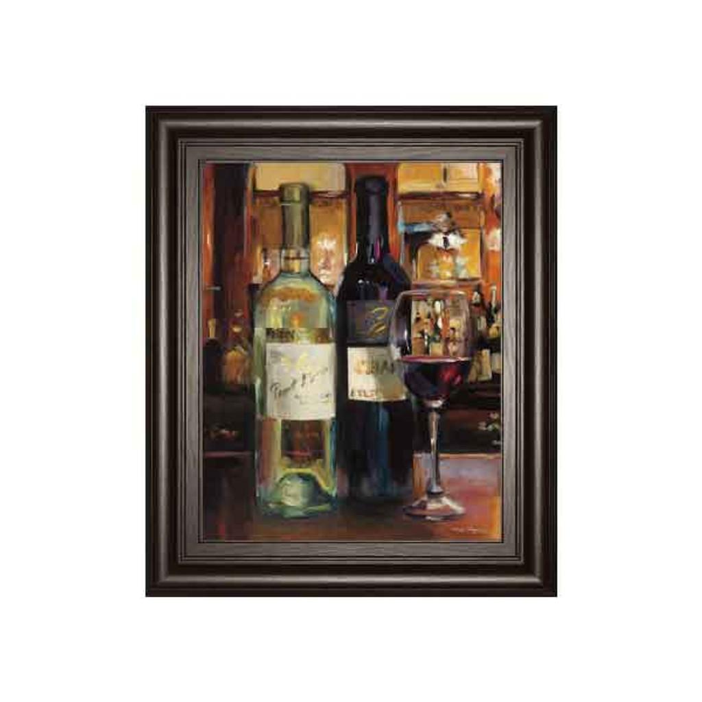 A REFLECTION OF WINE 2 BY MARILYNN HAGEMA 22x26