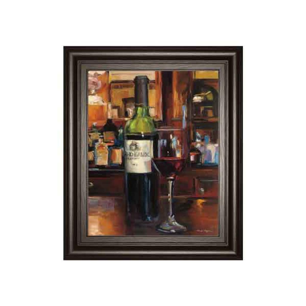 A REFLECTION OF WINE 3 BY MARILYNN HAGEMA 22x26