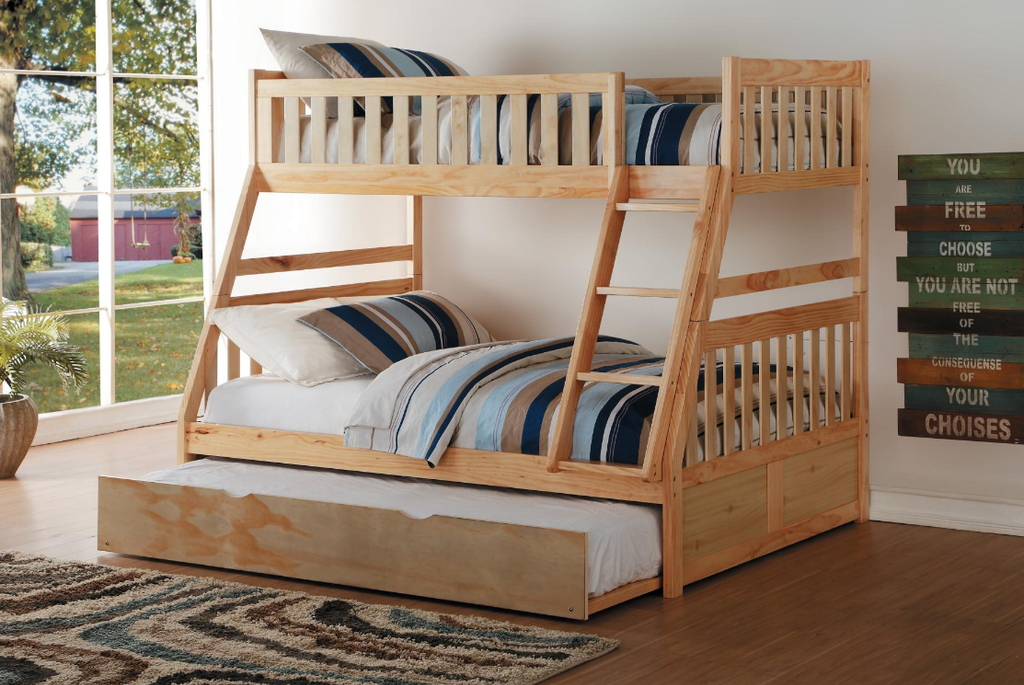 BARTLY COLLECTION FULL/TWIN BUNK BED