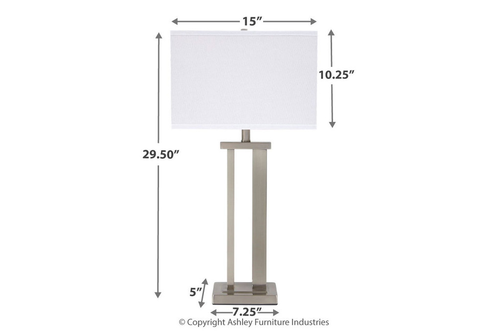 ANIELA TABLE LAMP (SET OF 2)-L204054