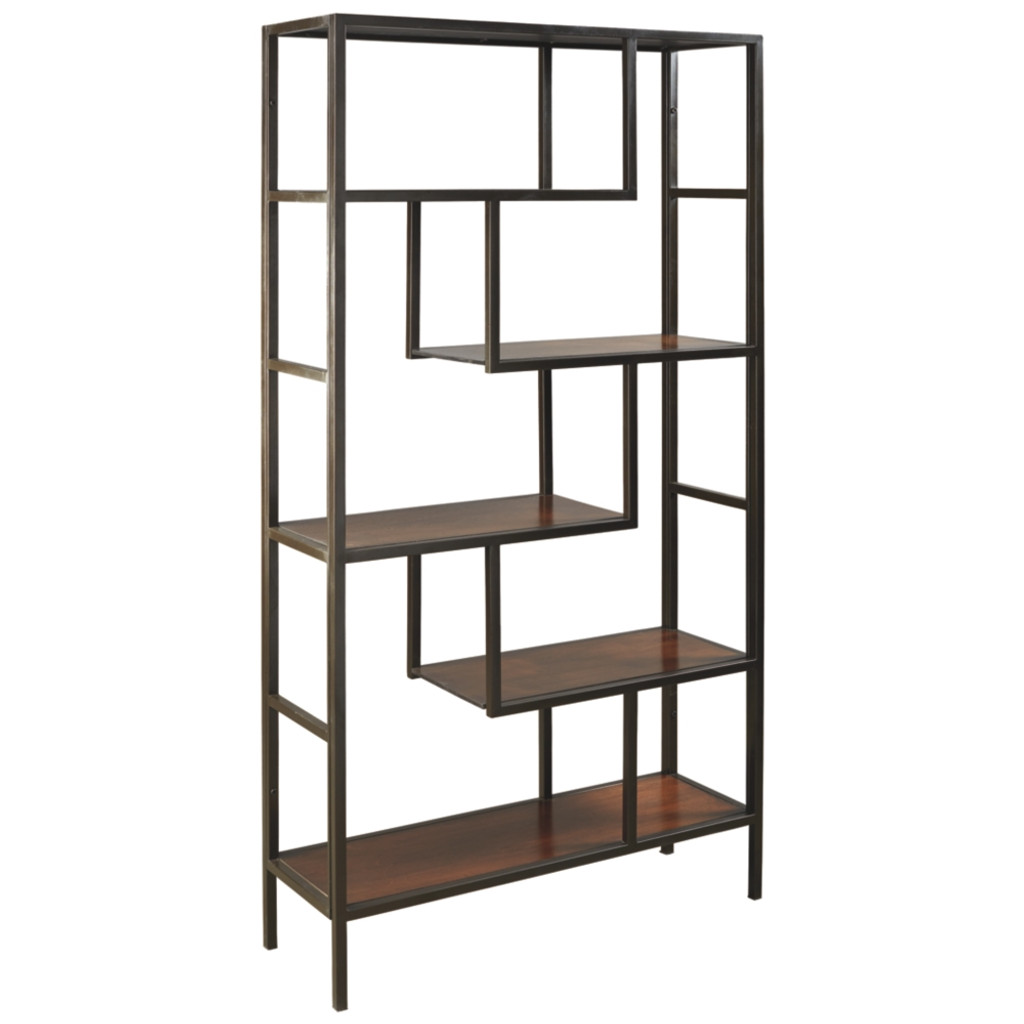 FRANKWELL BROWN / BLACK BOOKCASE-A4000021