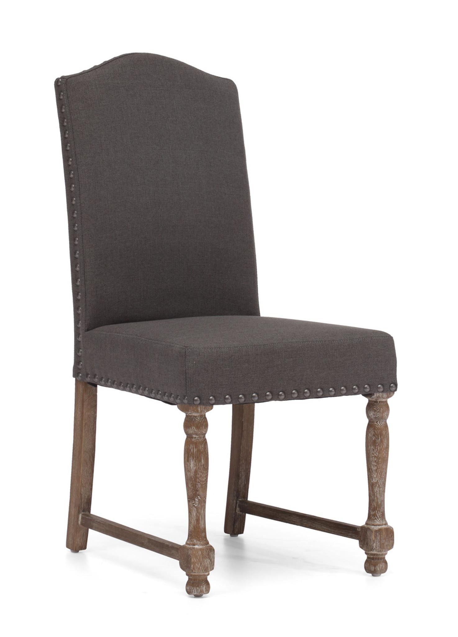 98073 Richmond Chair Charcoal Gray 816226021879 Seating Modern Charcoal  Gray Chair By Zuo Modern Kassa Mall