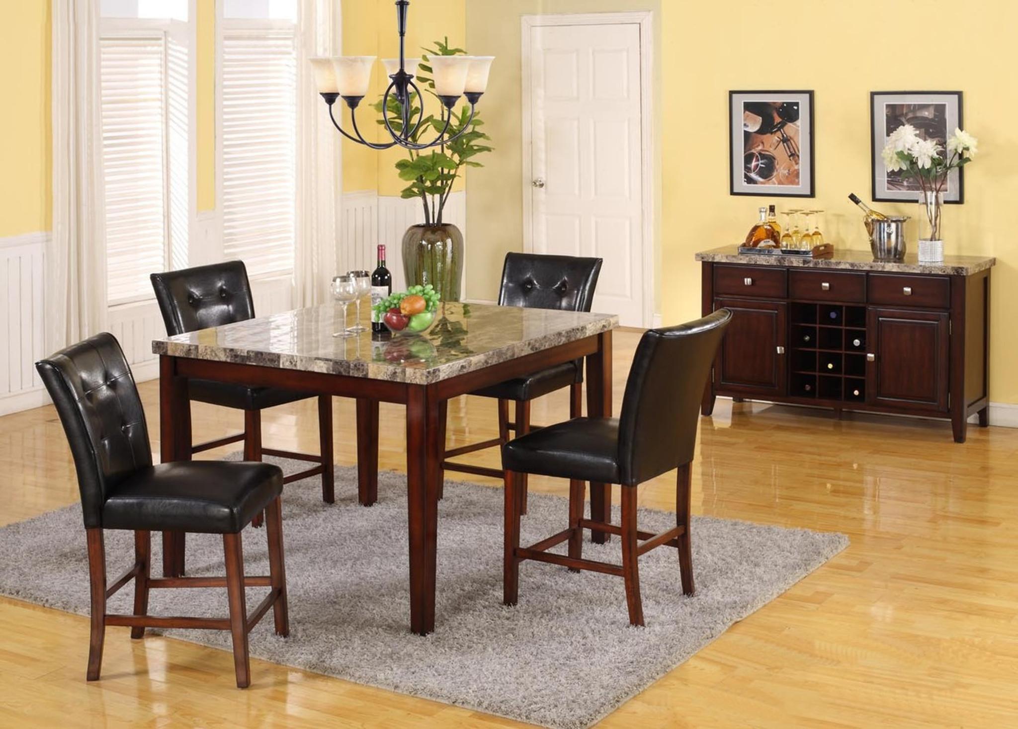 Tremendous Marco Counter Height Table Bar Stool 5 Pc Set Beatyapartments Chair Design Images Beatyapartmentscom