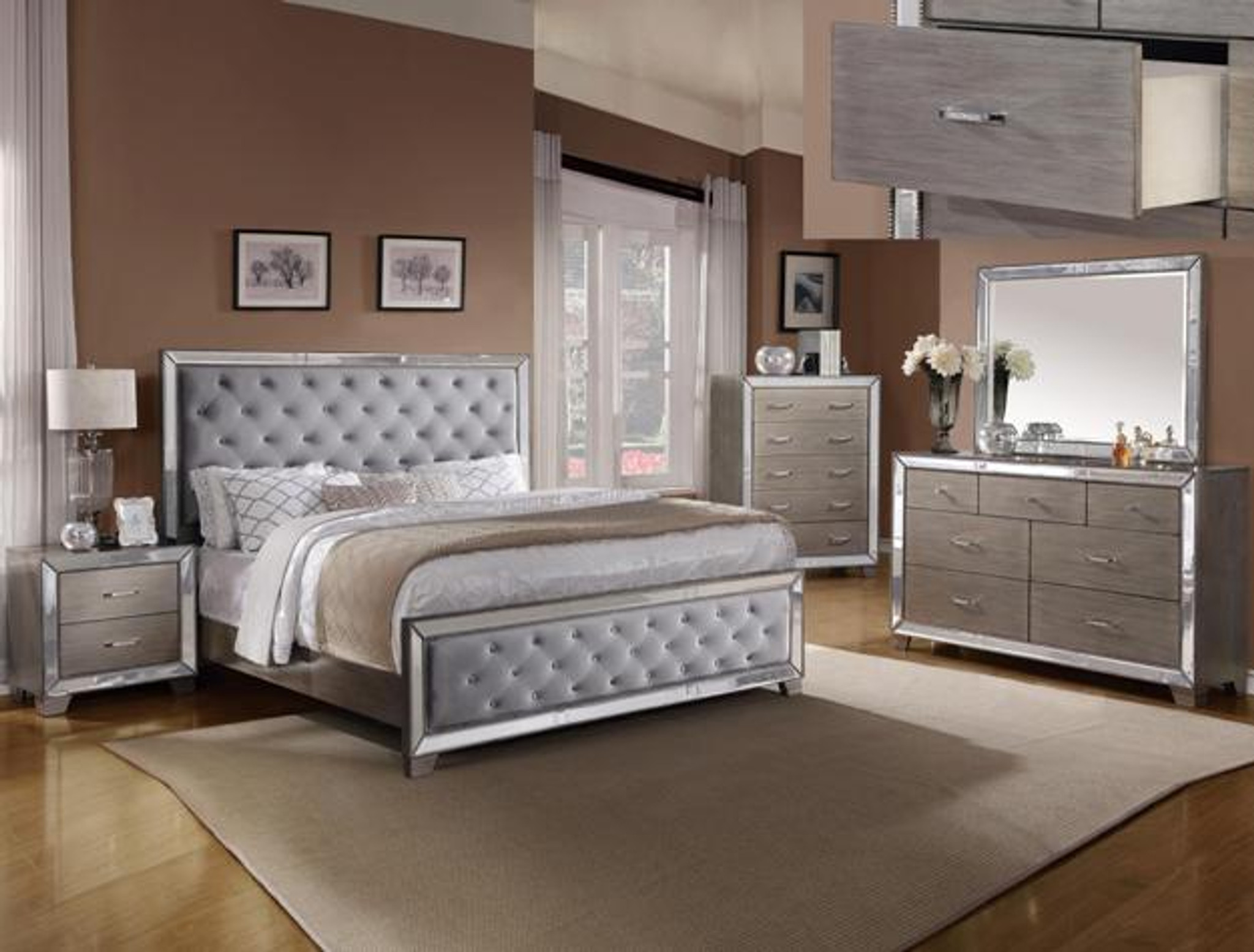COSETTE BEDROOM COLLECTION