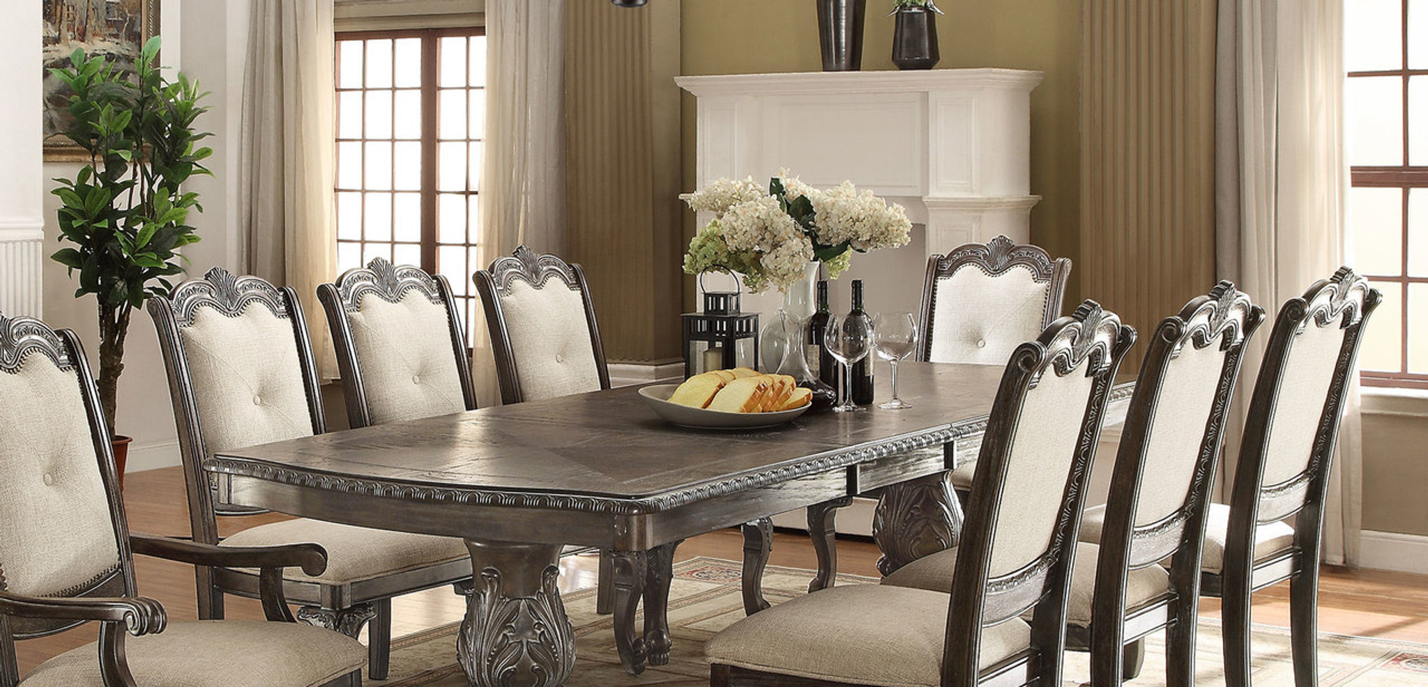Brilliant Kiera Dining Table Grey Machost Co Dining Chair Design Ideas Machostcouk