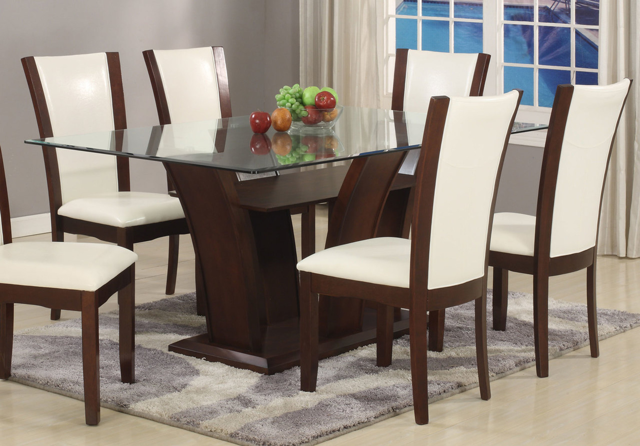 CAMELIA DINING TABLE-1210T/4272/BASE & 1210T/4272/BASE CAMELIA DINING TABLE COLLECTION by Crown Mark