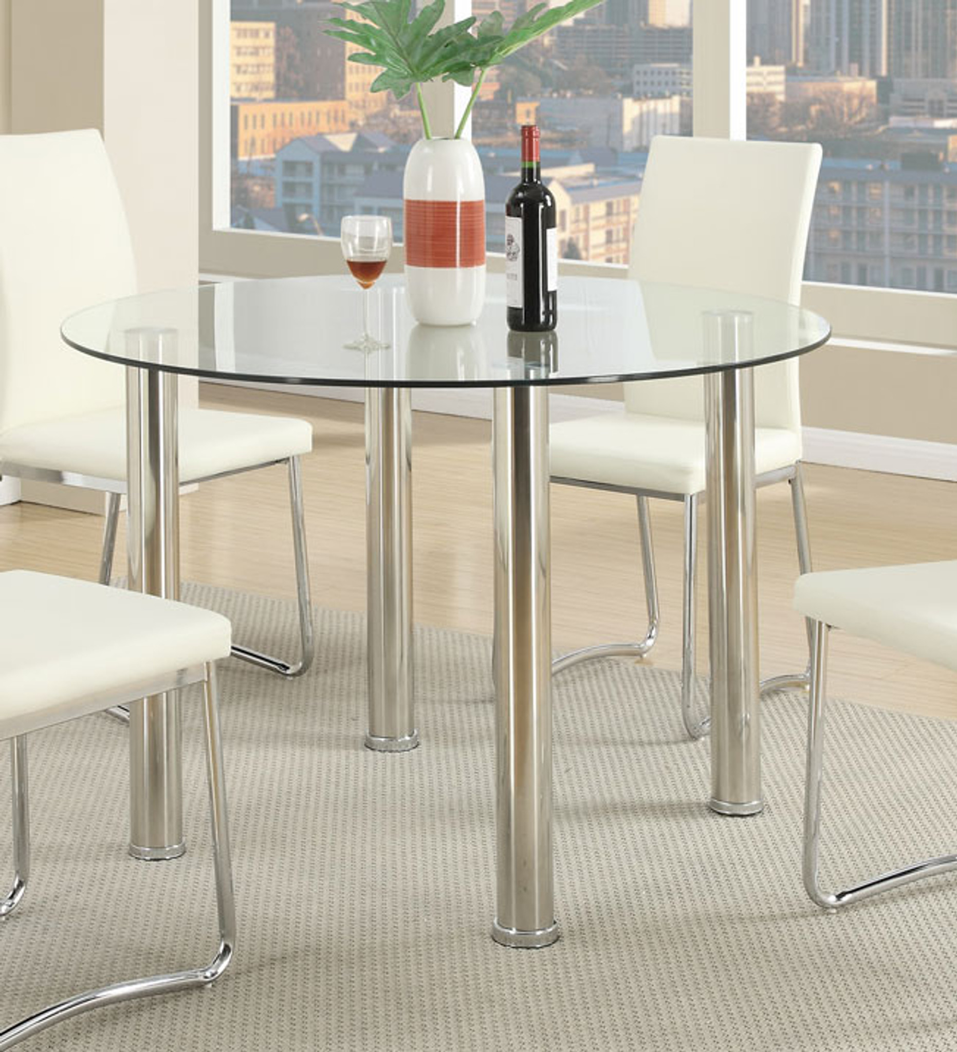 MODERN ROUND DINING TABLE F2200
