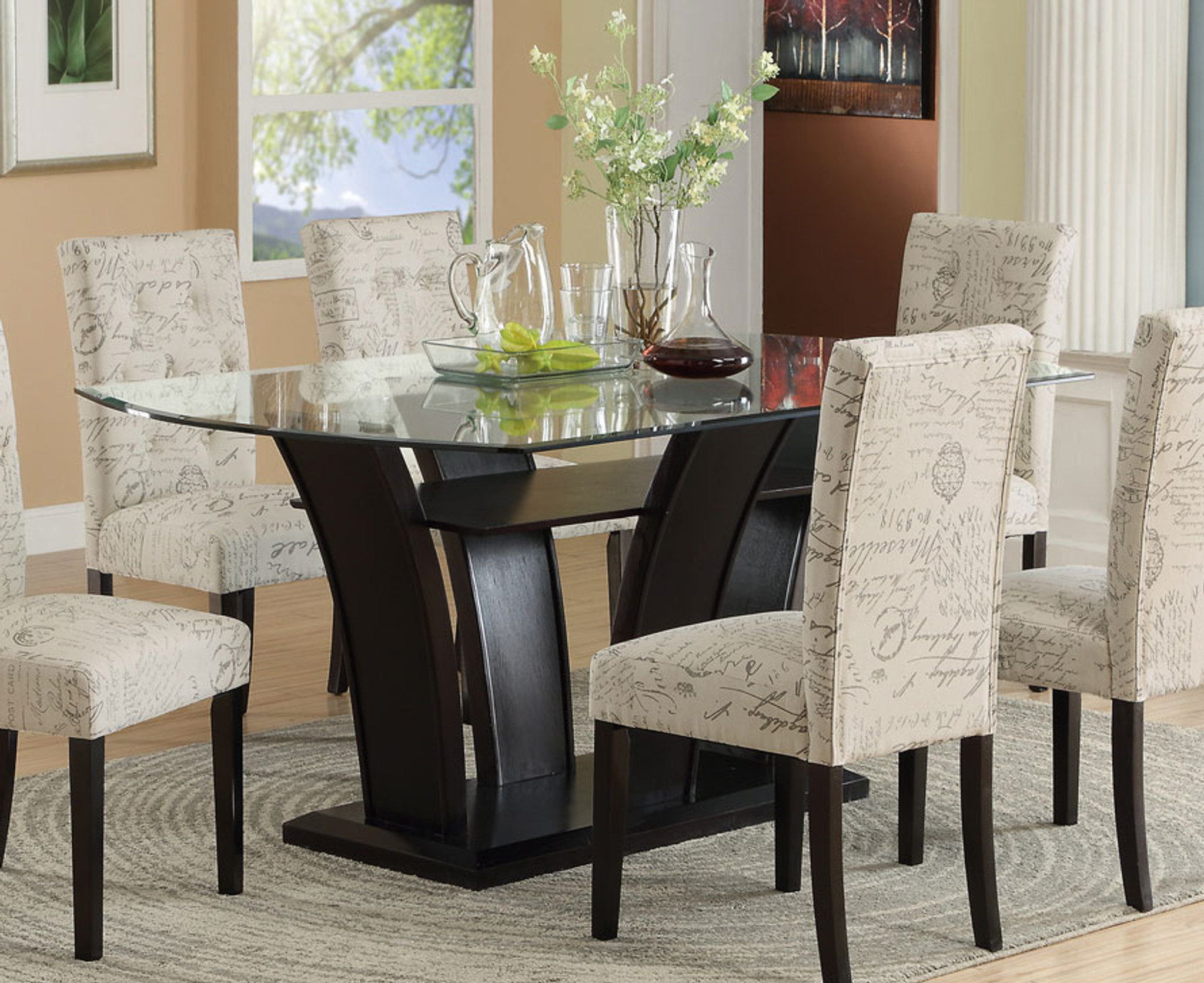 FUTURISTIC STYLE FORMAL DINING TABLE