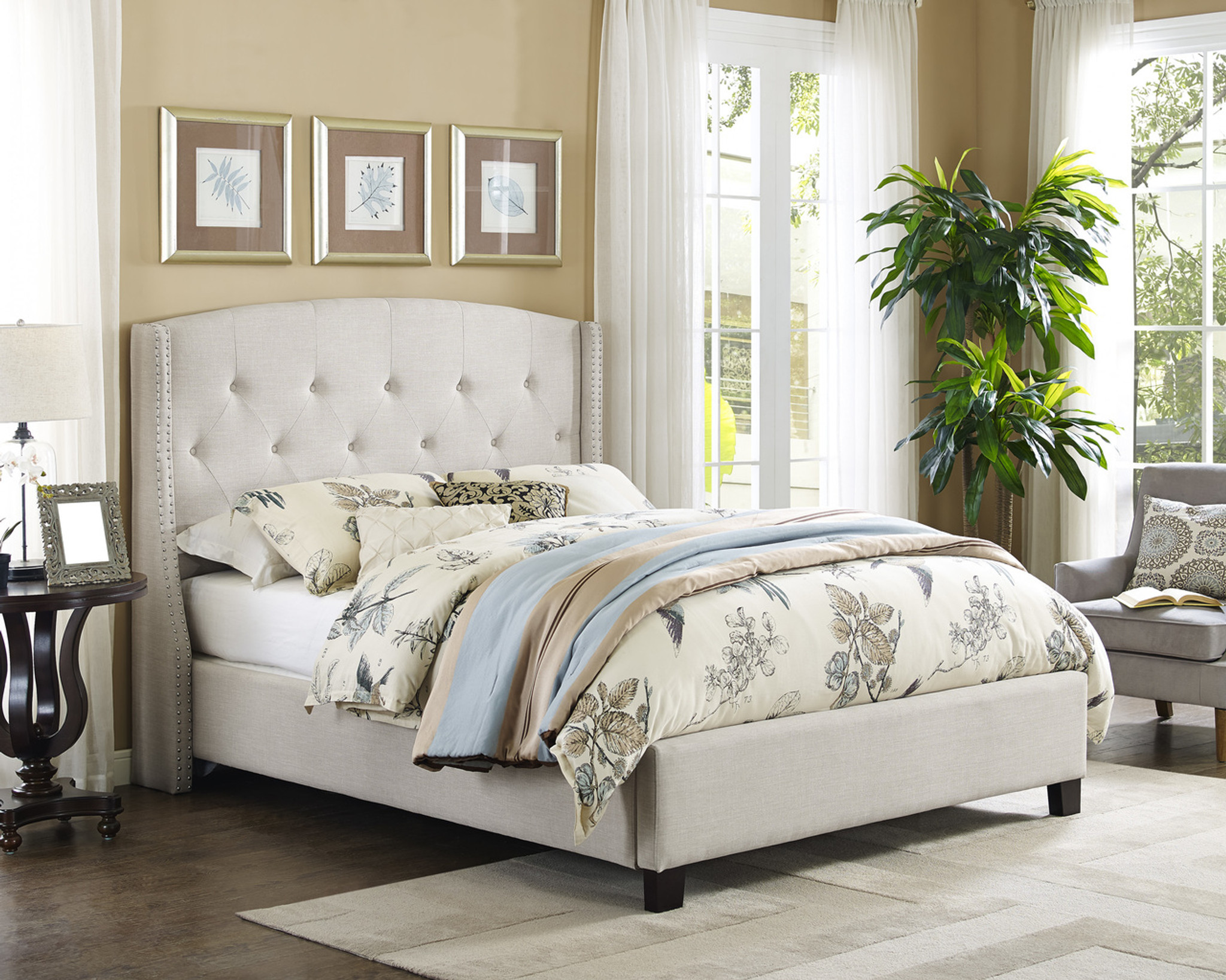 5111iv Eva Daybed Ivory Collection By Crown Mark