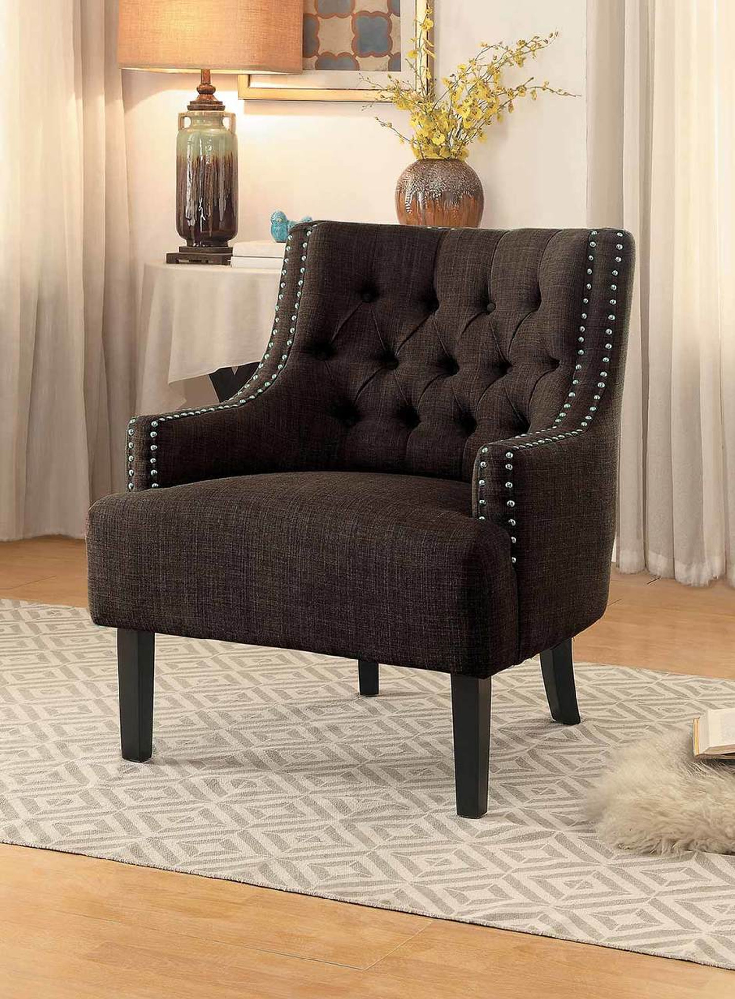 Sensational Charisma Accent Chair Chocolate Creativecarmelina Interior Chair Design Creativecarmelinacom