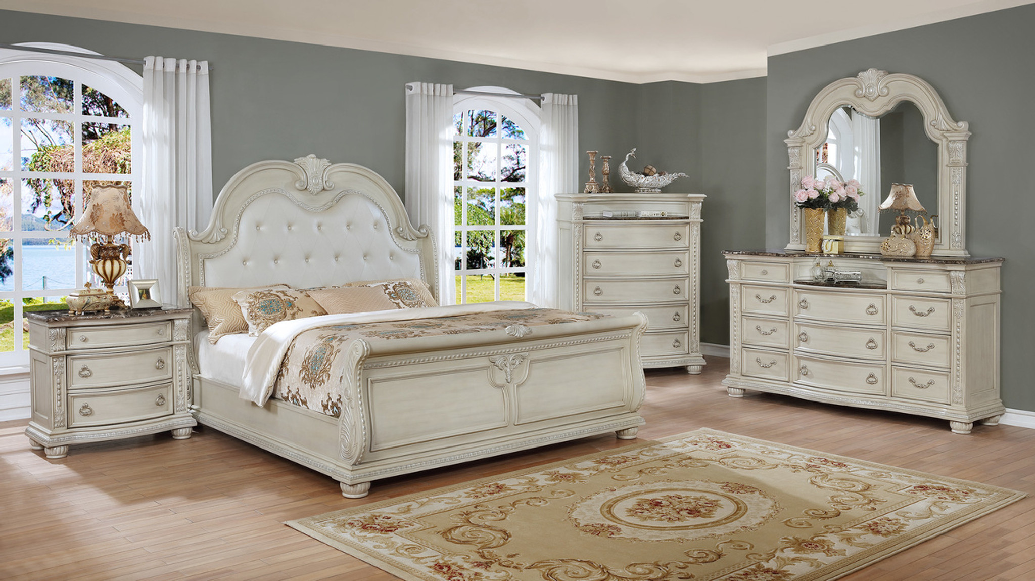 B1630 Stanley Sleigh Bedroom Set Collection By Crown Mark