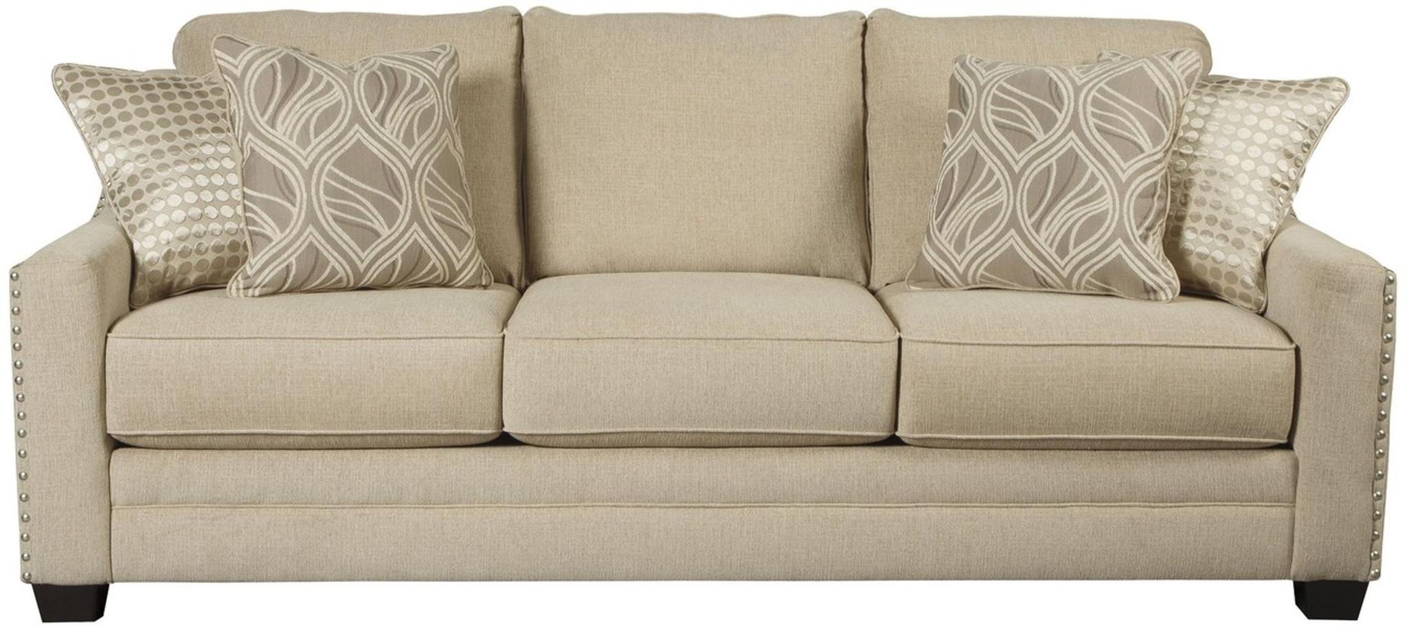 Groovy Mauricio Linen Collection Queen Sofa Sleeper Inzonedesignstudio Interior Chair Design Inzonedesignstudiocom