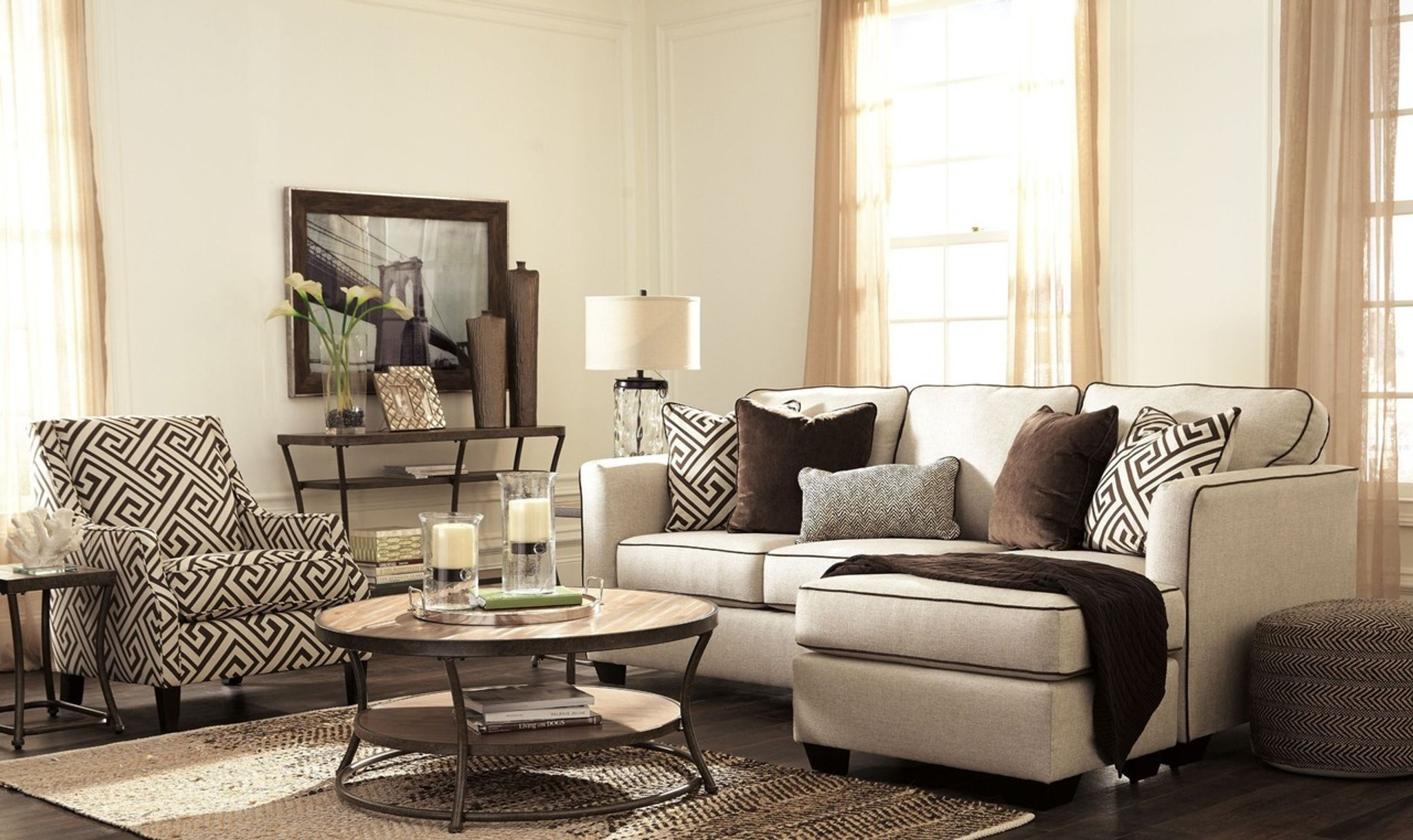 Pleasing Carlinworth Linen Collection Sofa Chaise Caraccident5 Cool Chair Designs And Ideas Caraccident5Info