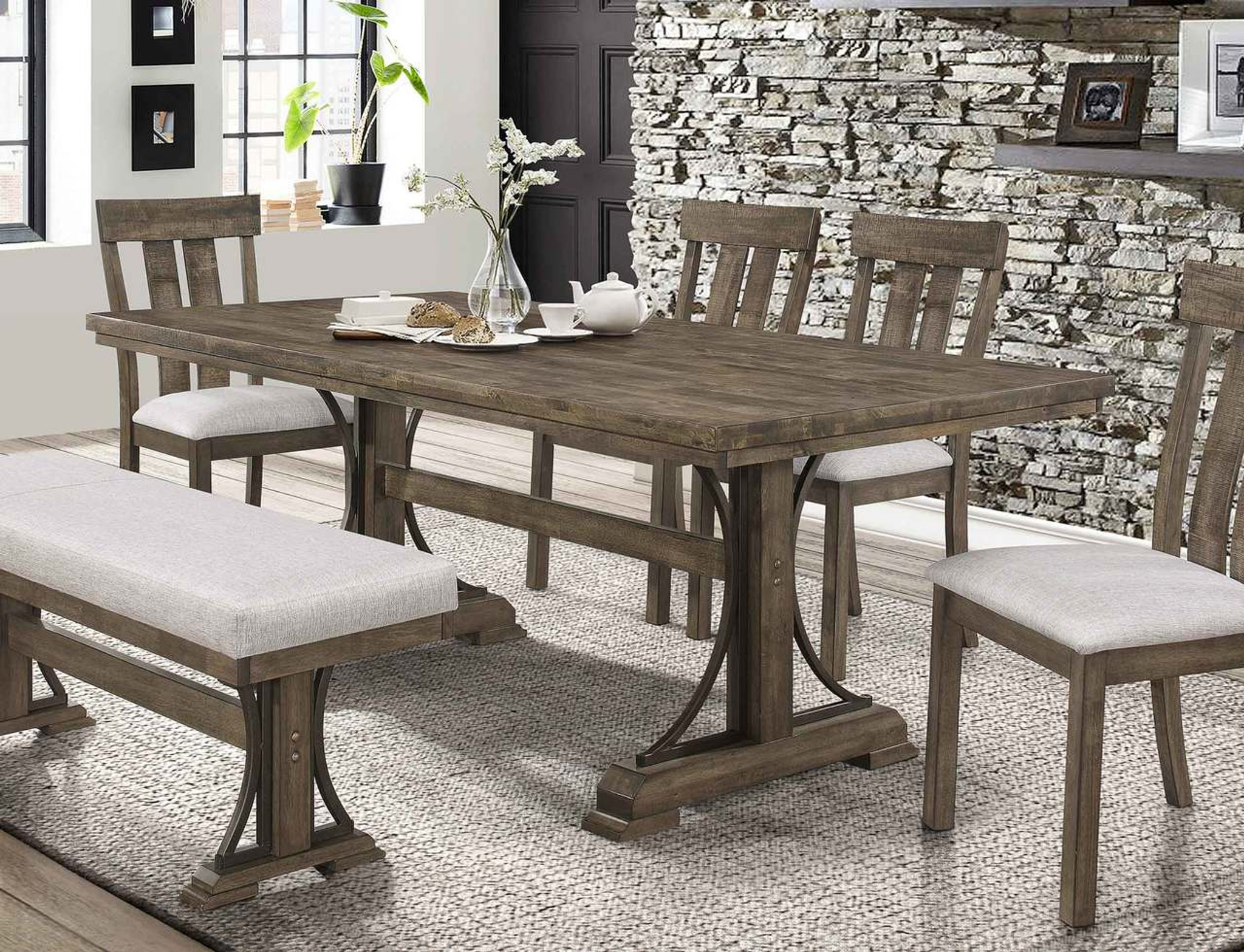 QUINCY RECT DINING TABLE-2131/T