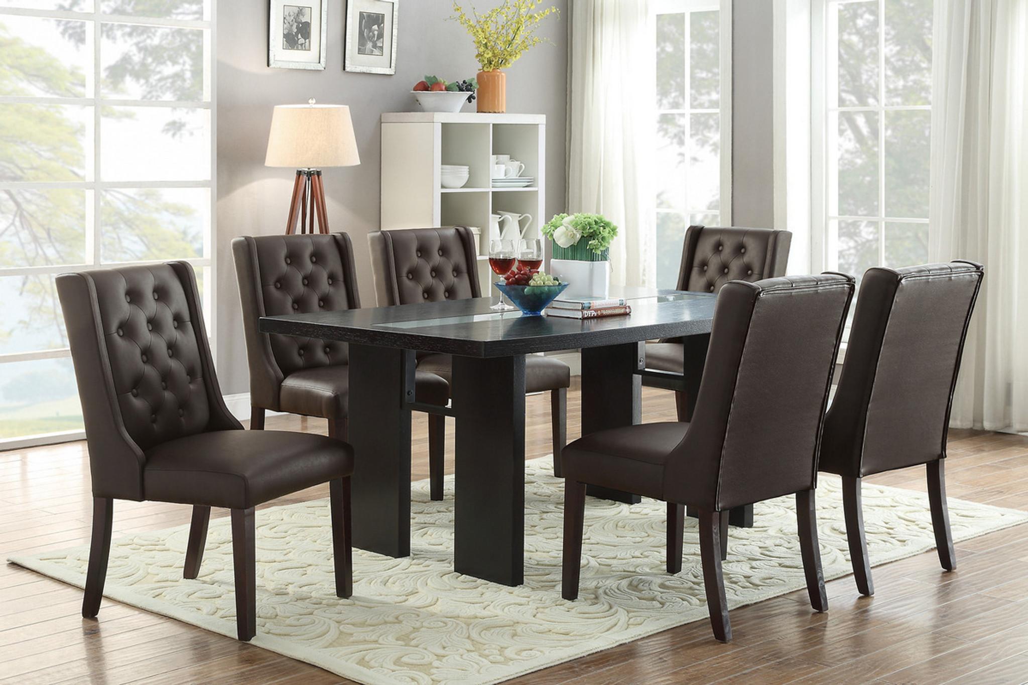 Excellent Dark Brown Dining Table Download Free Architecture Designs Ferenbritishbridgeorg