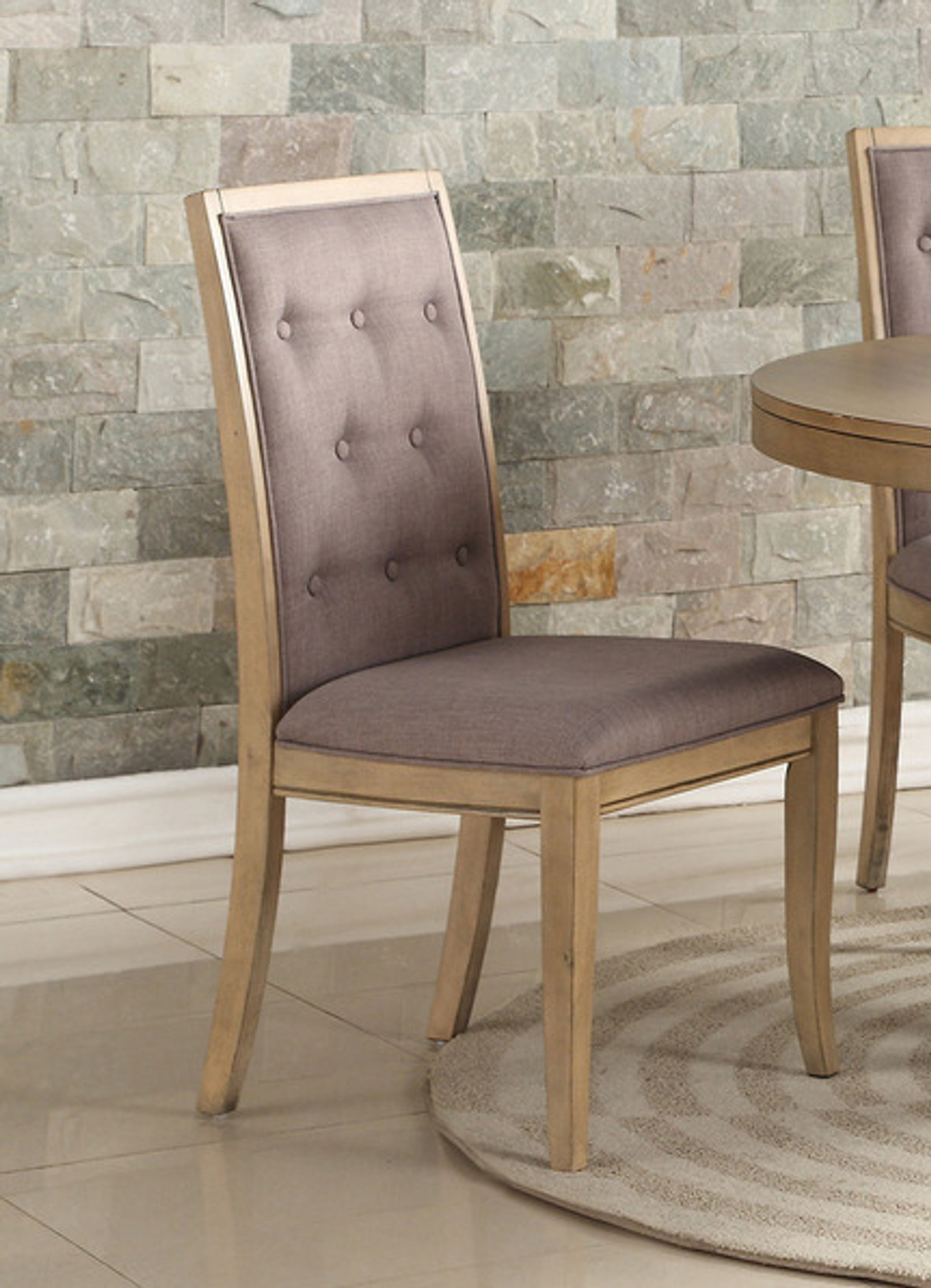 Pleasing 2Pcs Natural Wood Dining Chair Set Ibusinesslaw Wood Chair Design Ideas Ibusinesslaworg