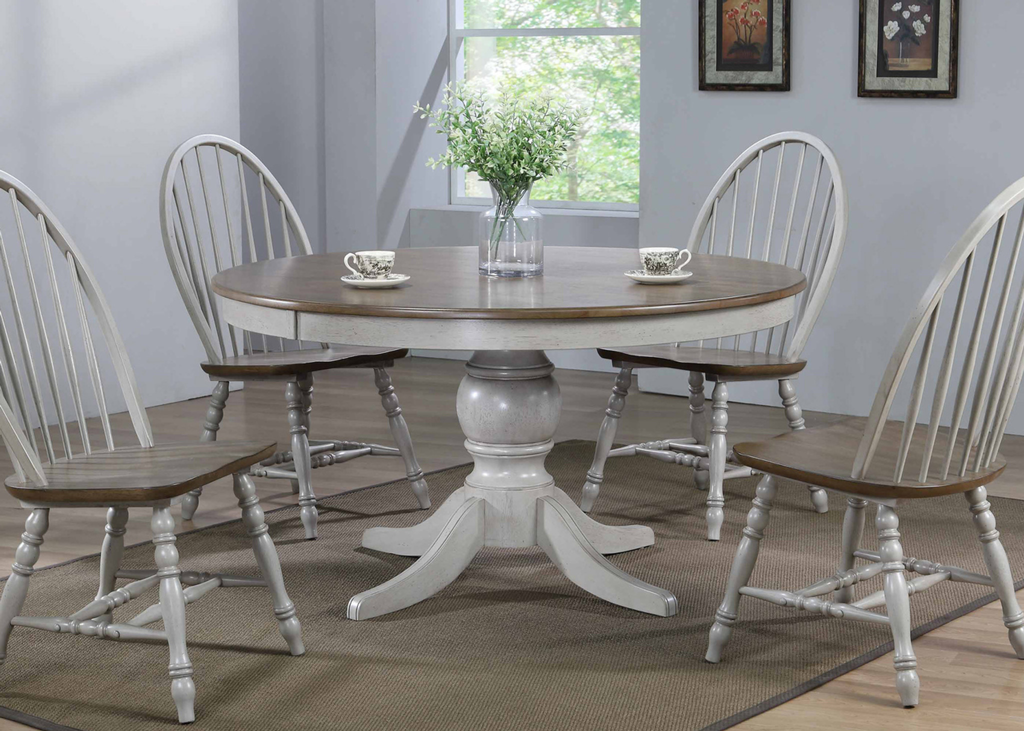 JACK ROUND PEDESTAL TABLE