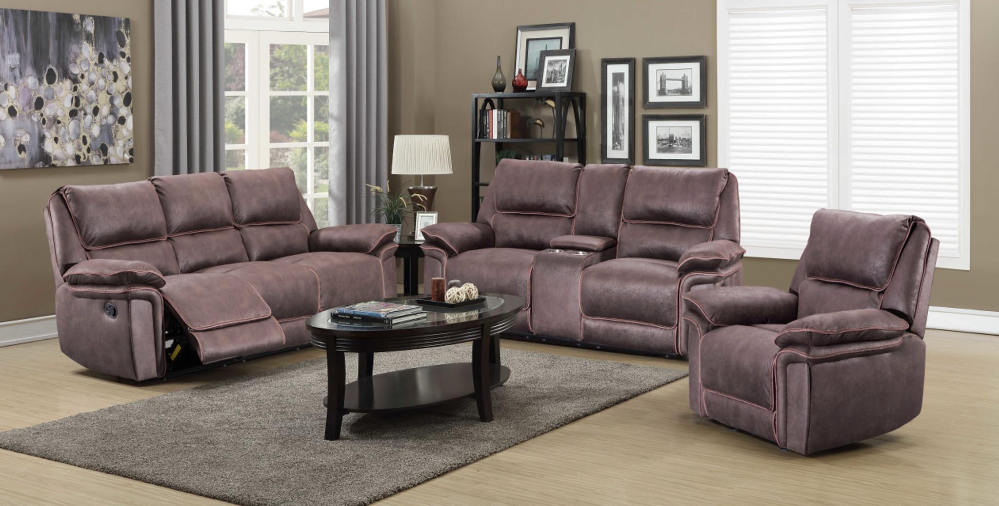 Wondrous 3Pcs Karla Recliner Sofa Loveseat And Chair Set Interior Design Ideas Skatsoteloinfo