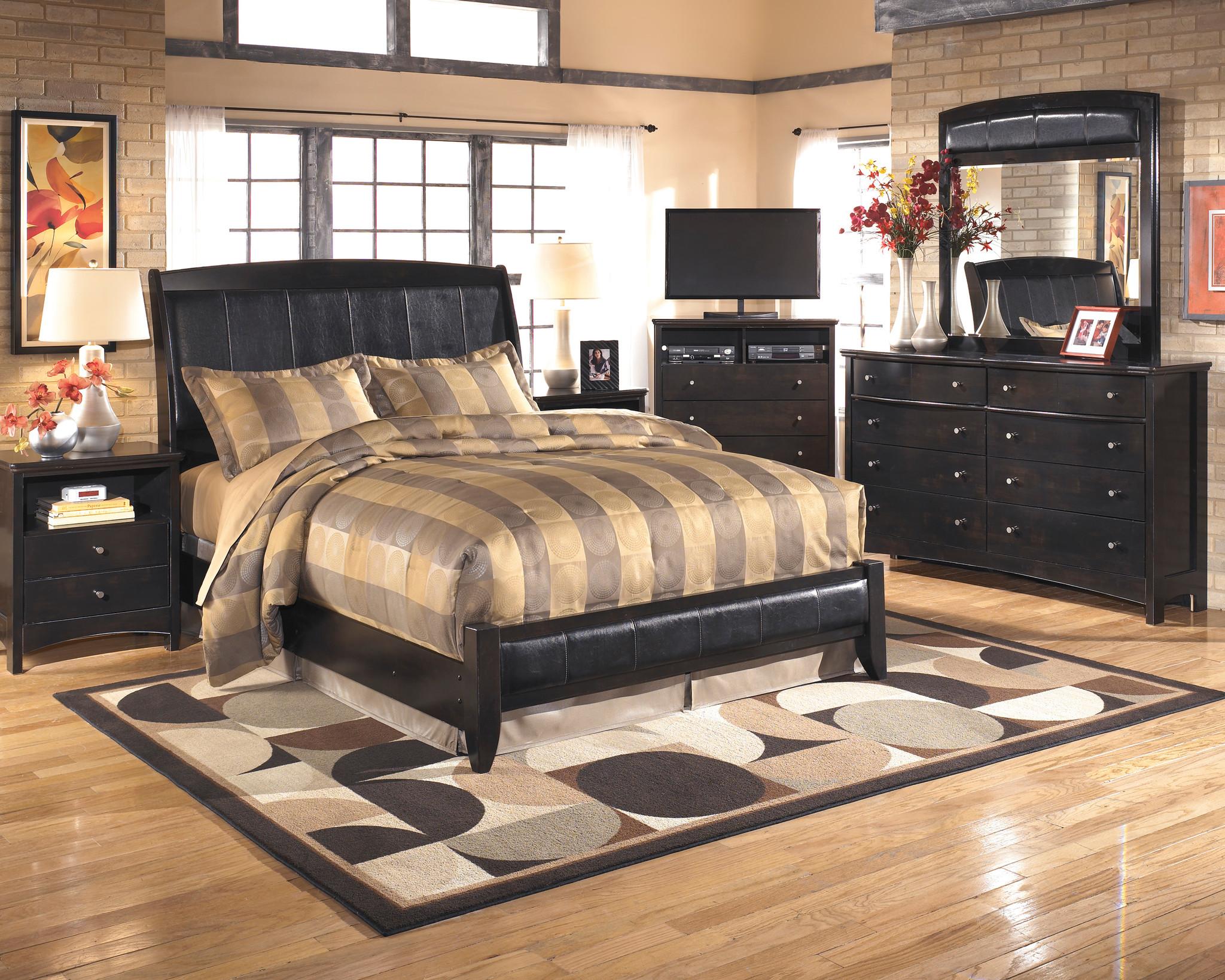 HARMONY CONTEMPORARY 6PCS MASTER BEDROOM SET BY ASHLEY SIGNATURE