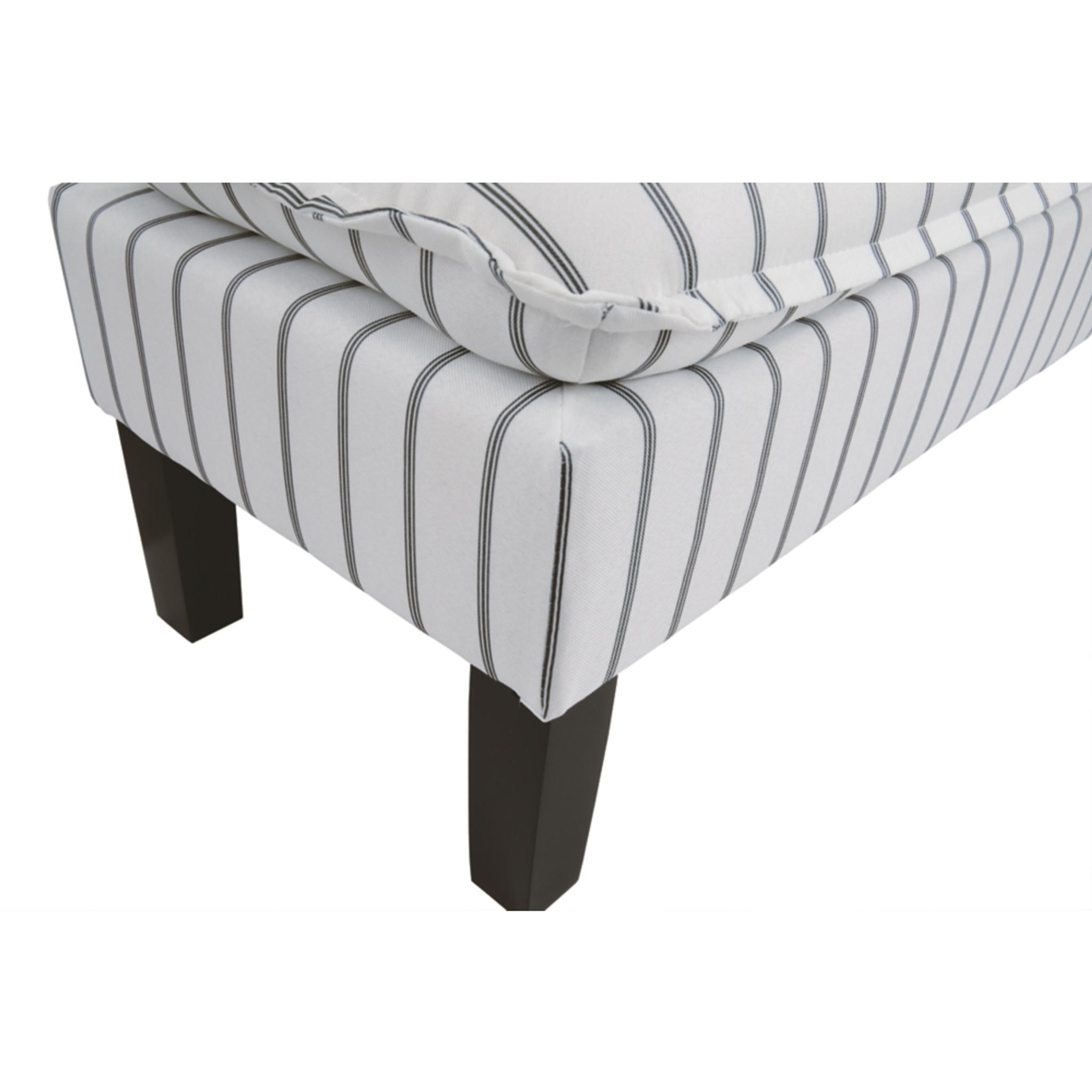 Brilliant Arrowrock White Grey Accent Bench Creativecarmelina Interior Chair Design Creativecarmelinacom