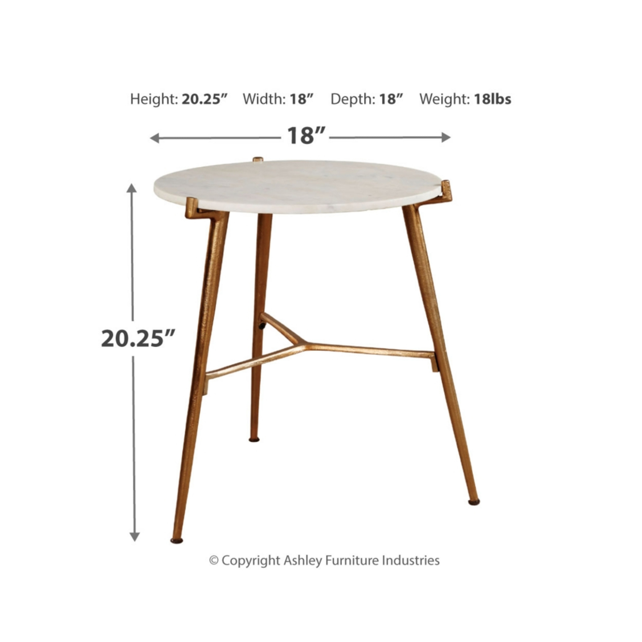 A4000004 Chadton Accent Table Collection By Ashley Furniture