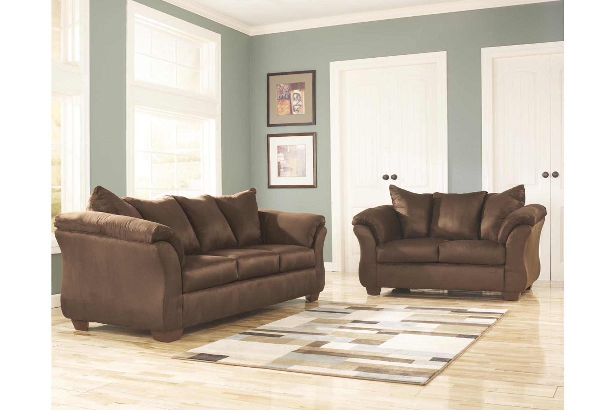 Fabulous 2 Pcs Darcy Cafe Sofa Loveseat Interior Design Ideas Apansoteloinfo