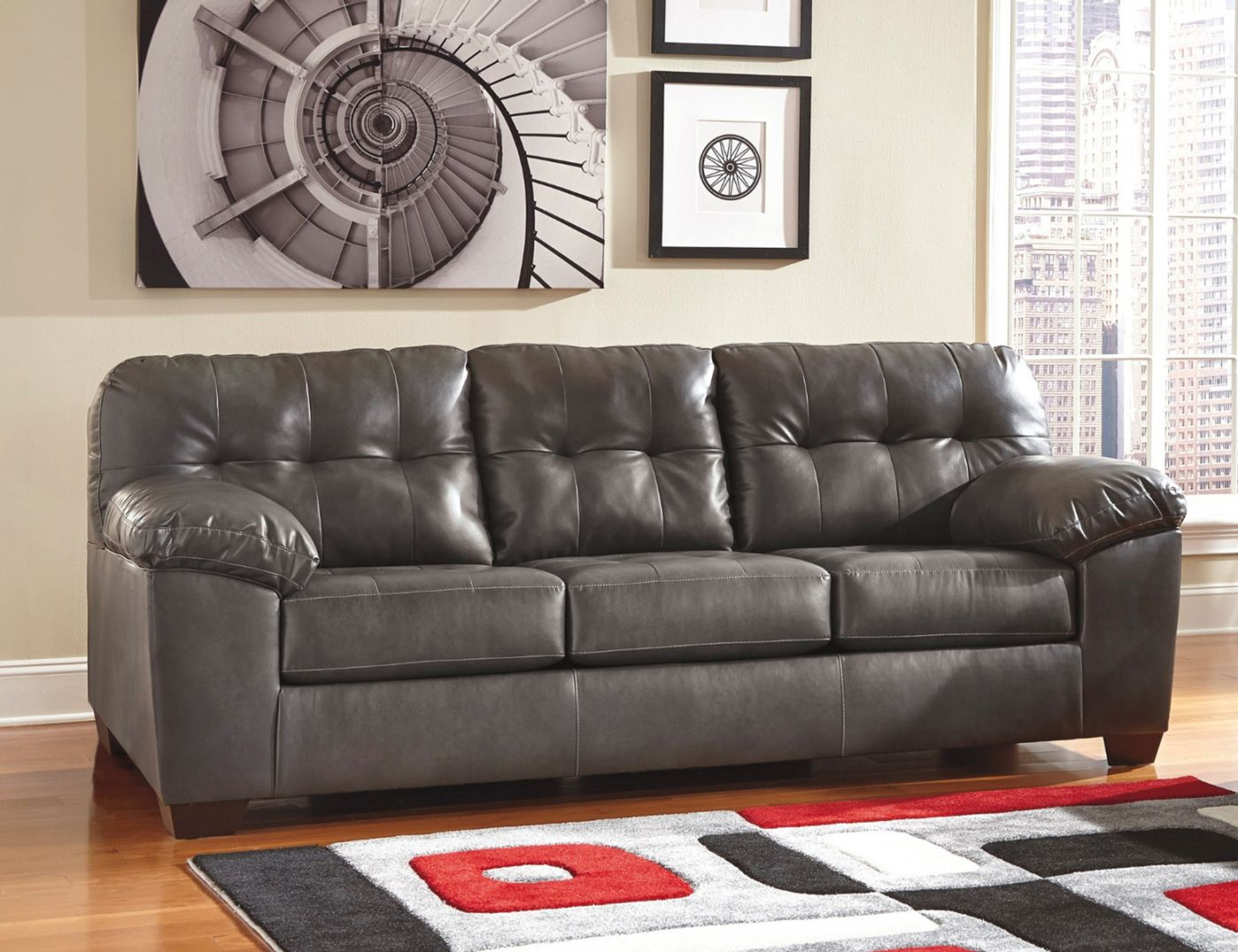 Astounding Alliston Grey Collection Queen Sofa Sleeper Creativecarmelina Interior Chair Design Creativecarmelinacom