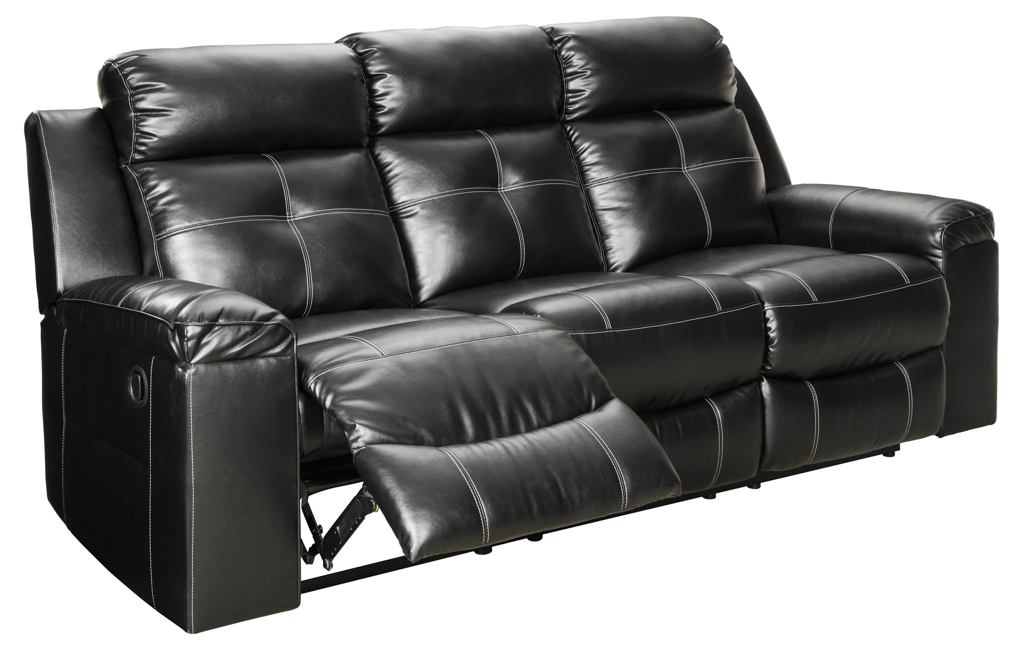 Brilliant 2Pc Kempten Black Sofa And Loveseat Reclining Set Ibusinesslaw Wood Chair Design Ideas Ibusinesslaworg