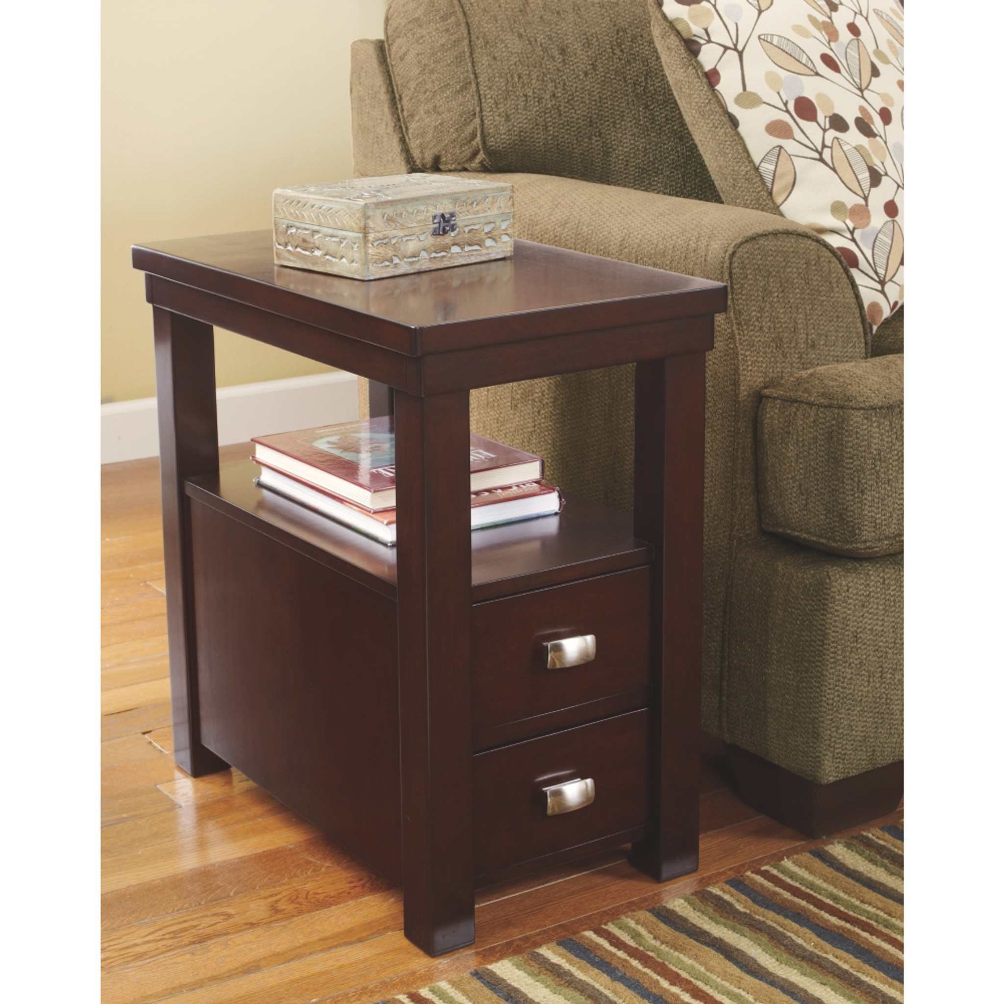Hatsuko Chairside End Table By Ashley Furniture