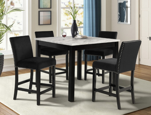 LENNON COUNTER HEIGHT TABLE 5 PCS DINING ROOM SET