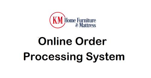 KM Home Furniture & Mattress Invoice for Order #10963