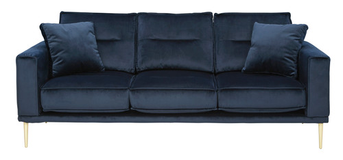 Macleary Modern Aesthetic Sofa in Blue Color (ASH-8900838)