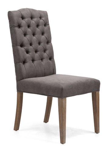 98351 Gough Chair Charcoal Gray 816226027901 Seating Modern Charcoal Gray Chair by  Zuo Modern Kassa Mall Houston, Texas Best Design Furniture Store Serving Houston, The Woodlands, Katy, Sugar Land, Humble, Spring Branch and Conroe