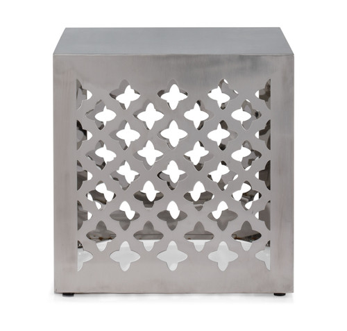 401182 Kailua Stool Stainless Steel 816226020919 Seating Modern Stainless Steel Stool by  Zuo Modern Kassa Mall Houston, Texas Best Design Furniture Store Serving Houston, The Woodlands, Katy, Sugar Land, Humble, Spring Branch and Conroe