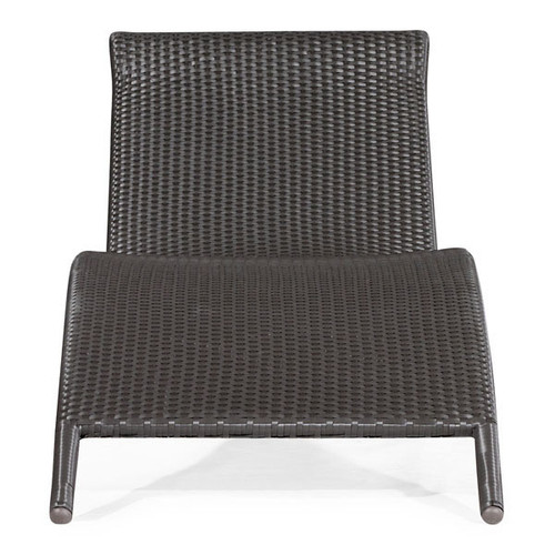 701120 Biarritz Chaise Lounge Espresso 811938013983 Wicker Modern Espresso Chaise Lounge by  Zuo Modern Kassa Mall Houston, Texas Best Design Furniture Store Serving Houston, The Woodlands, Katy, Sugar Land, Humble, Spring Branch and Conroe