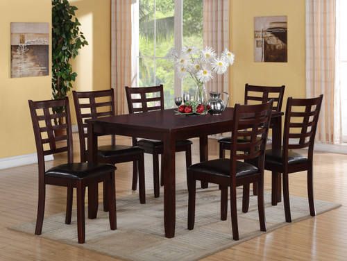7PC DARREN DINING TABLE SET