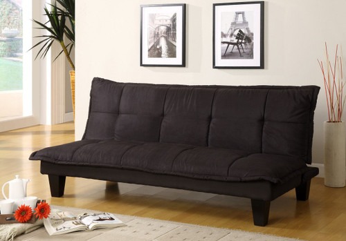 LUNA MARGO ADJUSTABLE SOFA/BED BLACK -5255