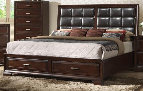 Jacob Storage Queen Size Bed.