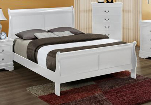 Luis Philip Queen Size Bed.