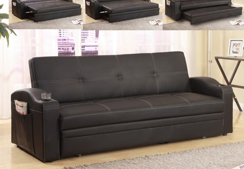 EASTON ADJUSTABLE SOFA BLACK -